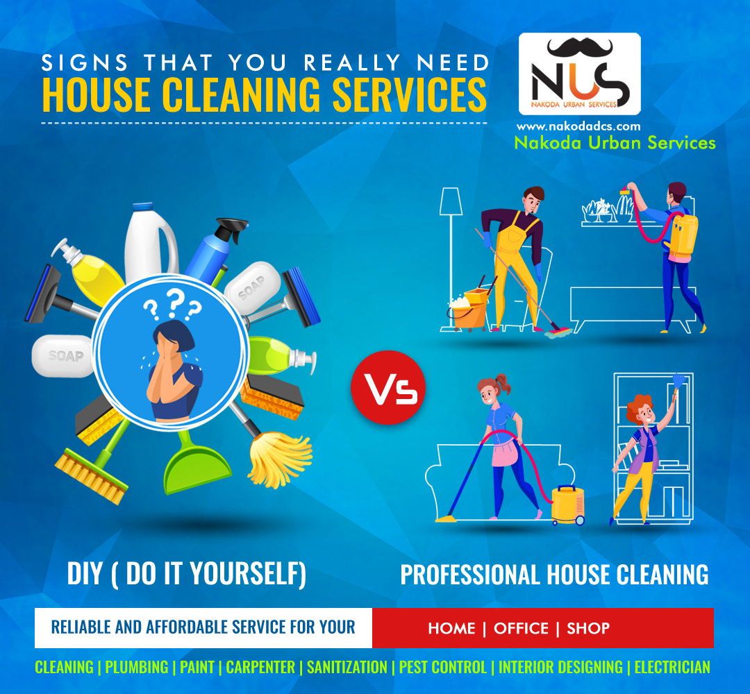 DIY vs. Professional House Cleaning- Which Ones Better?